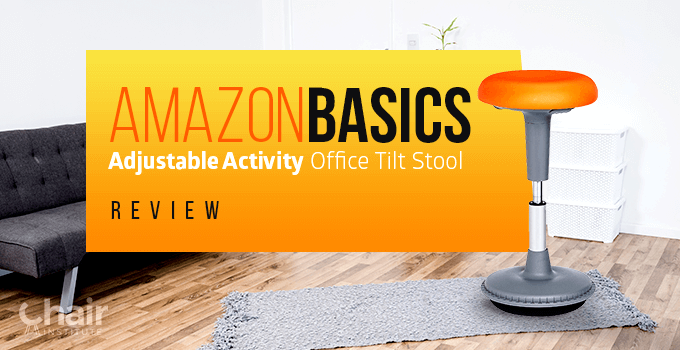 AmazonBasics Adjustable Activity Office Tilt Stool