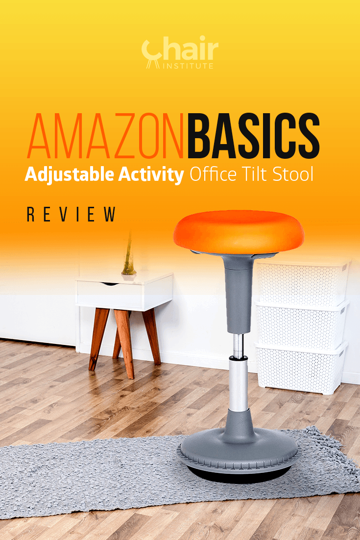 AmazonBasics Adjustable Activity Office Tilt Stool Review