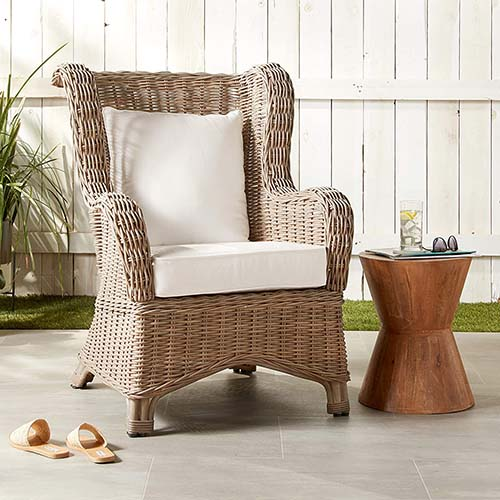 Natural Wicker Rattan Chair