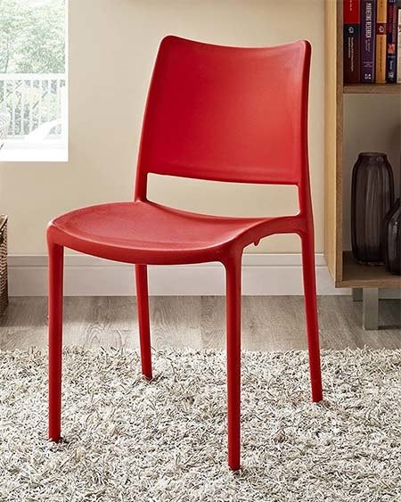 Red Plastic Chair