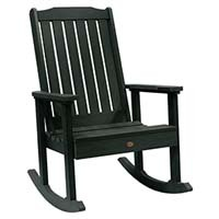 A smaller image of Highwood Lehigh Rocking Chair in Charleston Green color.