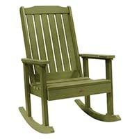 A smaller image of Highwood Lehigh Rocking Chair in Charleston Dried Sage color.
