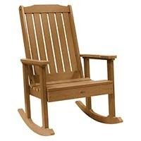 A smaller image of Highwood Lehigh Rocking Chair in Charleston Toffee color.
