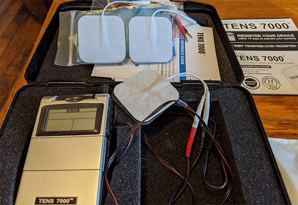 TENS 7000, Treating Back Pain At Home, Full Accessories
