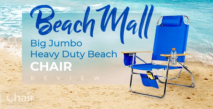 BeachMall Big Jumbo Heavy Duty Beach Chair