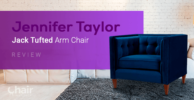 Jennifer Taylor Jack Tufted Arm Chair