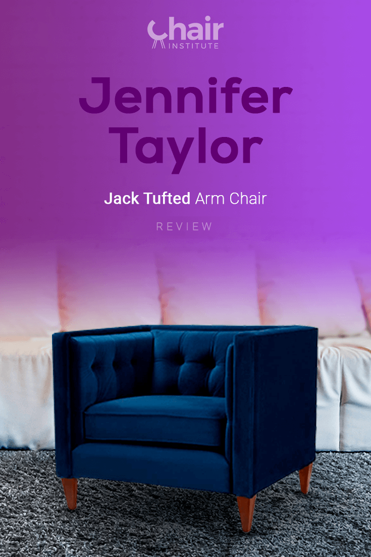 Jennifer Taylor Jack Tufted Arm Chair Review