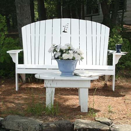 Adirondack Bench Love Seat by Instructables Workshop