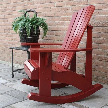 Rocking Adirondack Chair Plan by Instructables