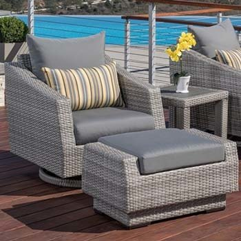 Rst Brands Cannes 6 Piece Loveseat Outdoor Furniture Set 2021
